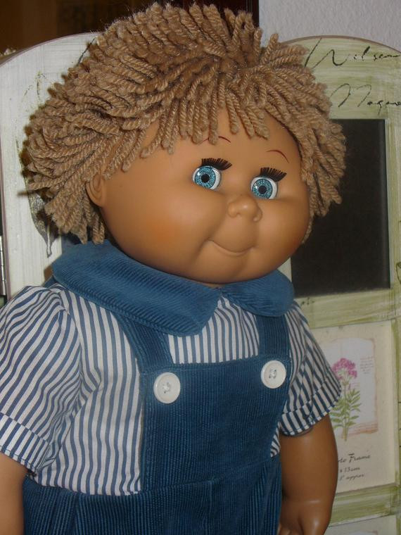 Best Of Vintage Cabbage Patch Kids Type Doll David Craft orig Blue Collectible Cabbage Patch Dolls Of Luxury 42 Pics Collectible Cabbage Patch Dolls