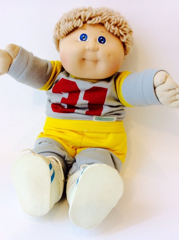 Vintage Collectible 1985 Cabbage Patch Kids Doll Coleco