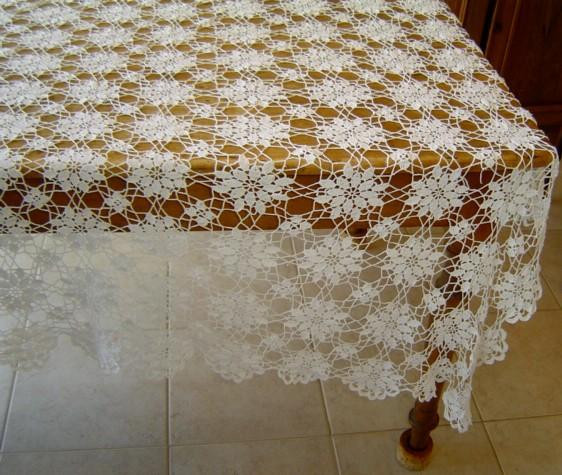Best Of Vintage Hand Crochet Lace Tablecloth From Rubylane sold On Crochet Tablecloth for Sale Of Delightful 42 Ideas Crochet Tablecloth for Sale