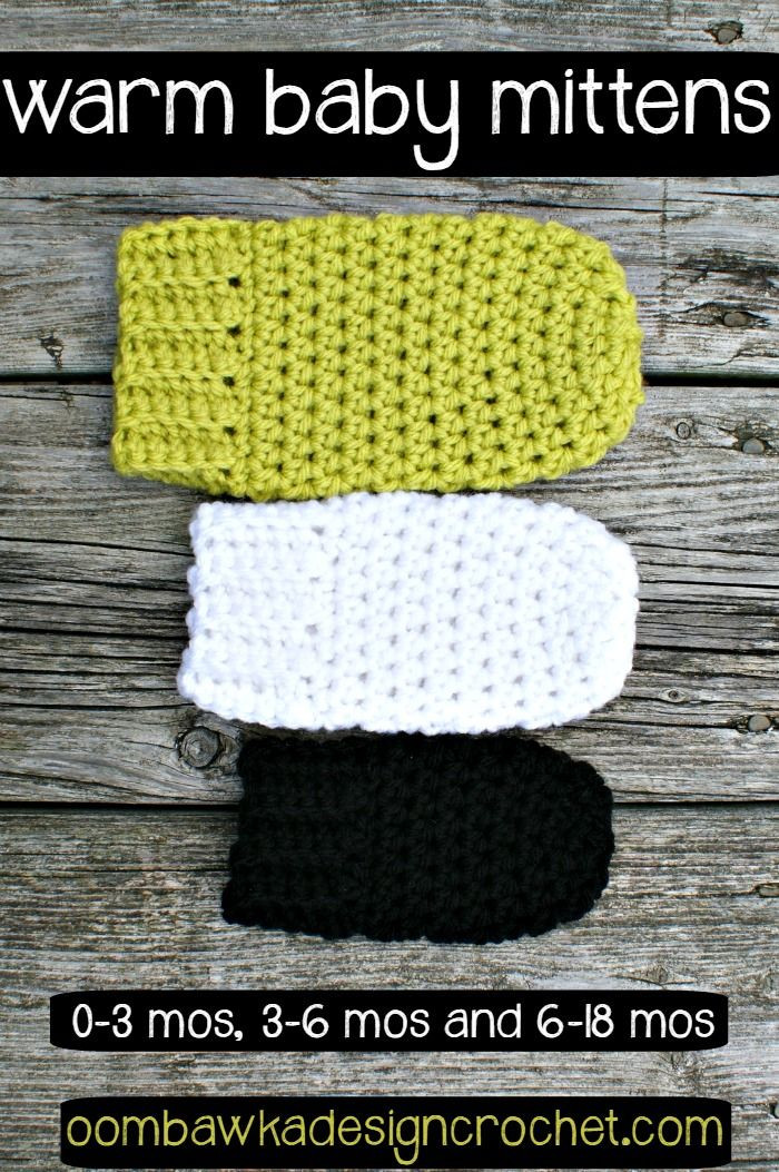 Best Of Warm Baby Mittens 0 3 Months 3 6 Months and 6 18 Months Baby Mittens Crochet Pattern Of Great 44 Ideas Baby Mittens Crochet Pattern
