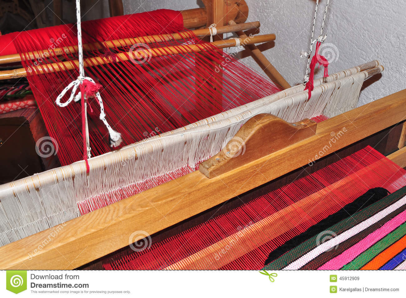 Best Of Weaving Hand Loom Stock Image Image Of Textile Material Hand Weaving Of Innovative 45 Ideas Hand Weaving