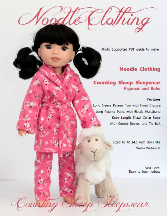 Best Of Wellie Wishers Clothing Pdf Pattern Counting Sheep Sleepwear Wellie Wishers Clothes Patterns Of Unique 47 Images Wellie Wishers Clothes Patterns