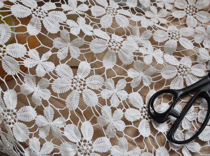 Best Of White Milk Silk Crochet Lace Fabric Floral Lace Wedding47 Crochet Lace Fabric Of Attractive 45 Images Crochet Lace Fabric