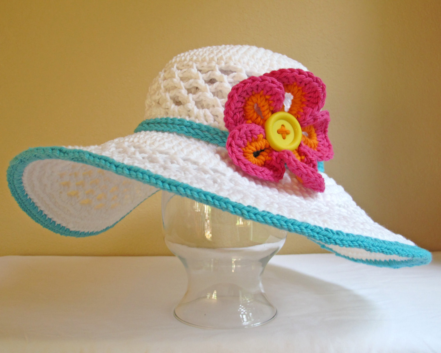 Best Of Wide Brim Sun Hats – Tag Hats Crochet Hat with Brim Pattern Of Contemporary 46 Photos Crochet Hat with Brim Pattern
