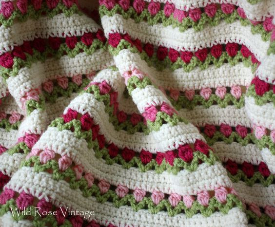 Best Of Wild Rose Vintage Flowers In A Row Free Red Heart Redheart Com Crochet Patterns Of Amazing 43 Ideas Redheart Com Crochet Patterns