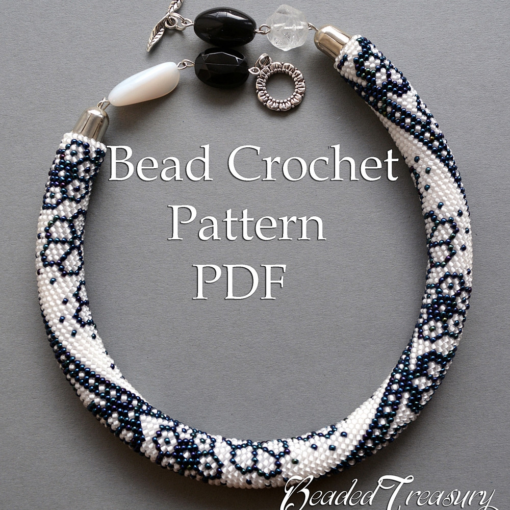 Best Of Winter Lace Bead Crochet Necklace Pattern Bead Crochet Crochet Beads Necklace Of Fresh 42 Models Crochet Beads Necklace