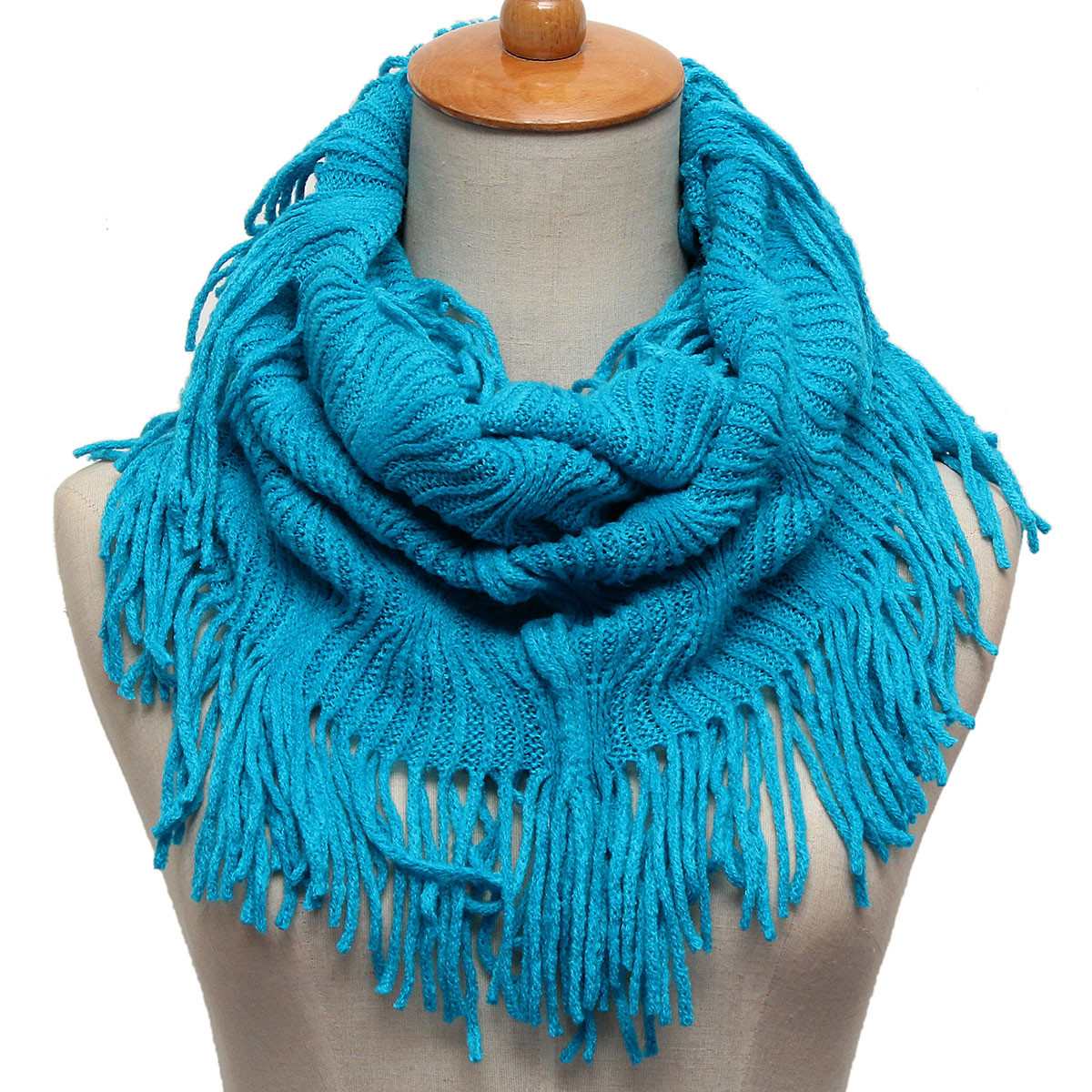 Best Of Women La S Two Circle Tassel Cable Knit Cowl Neck Knit Circle Scarf Of Brilliant 47 Photos Knit Circle Scarf