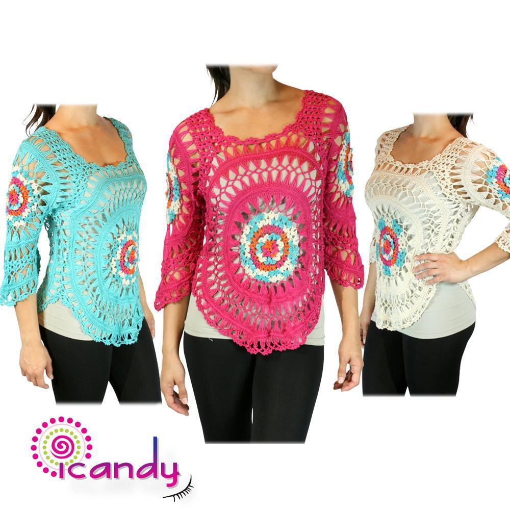 Best Of Women S Colorful Knit Crochet Poncho Cover Up top Handmade Crochet Patterns for Women's Sweaters Of Top 48 Photos Crochet Patterns for Women\'s Sweaters