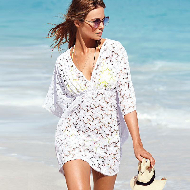 Best Of Womens tops Fashion 2015 Dresses Clothing for Beach Plus White Crochet Beach Dress Of Brilliant 42 Pics White Crochet Beach Dress