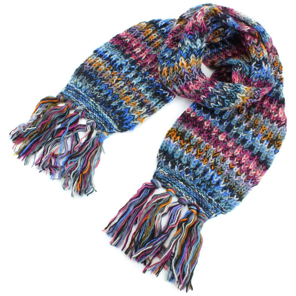 Best Of Wool Scarf Chunky Knit Tassels Long Knitted Warm Winter Chunky Knit Scarf Of Top 50 Photos Chunky Knit Scarf