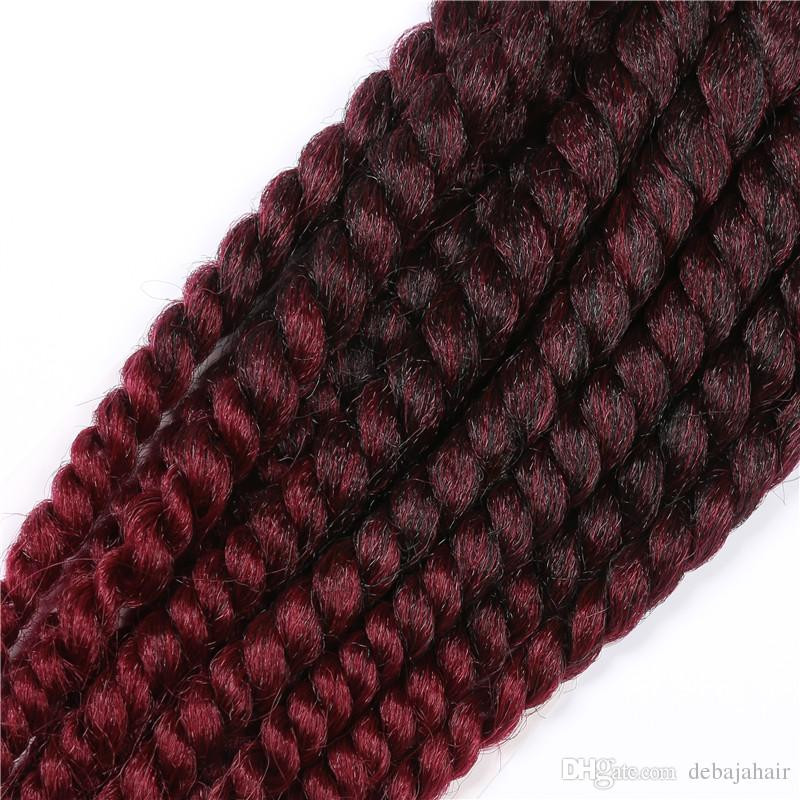 Best Of Xpression Ombre Synthetic Braiding Hair Extensions Burgundy Faux Locs Crochet Of Beautiful 41 Models Burgundy Faux Locs Crochet