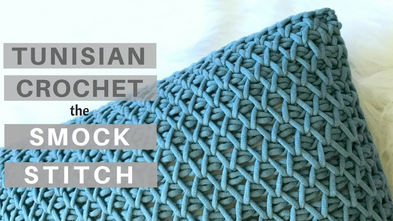 Best Of Yes It S Crochet Learn the Tunisian Crochet Smock Tunisian Stitch Of Attractive 49 Pictures Tunisian Stitch
