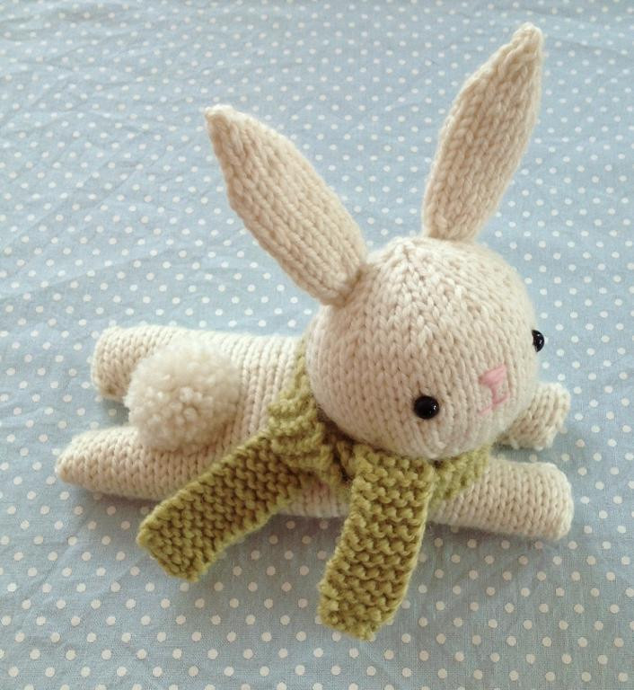 Best Of You Have to See Bunny Knit Pattern On Craftsy Knitted Bunny Pattern Of Unique 40 Pics Knitted Bunny Pattern