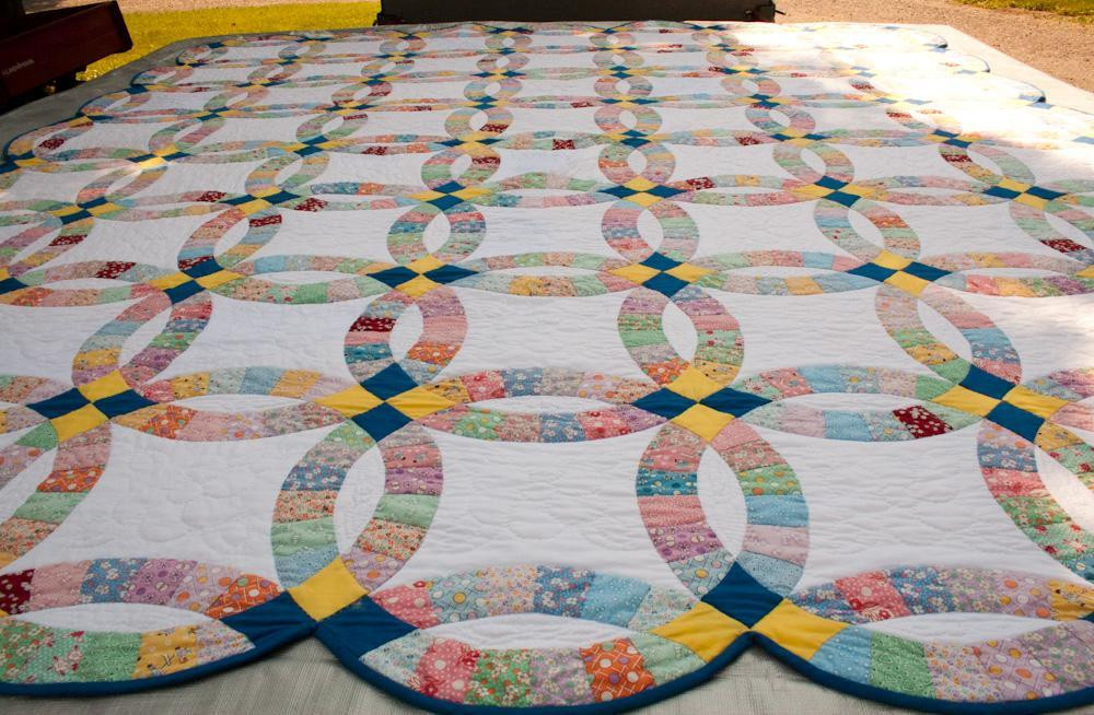 Best Of You Have to See Double Wedding Ring Quilt On Craftsy Wedding Ring Quilt Pattern Of New John Flynn's Double Wedding Ring Class Wedding Ring Quilt Pattern