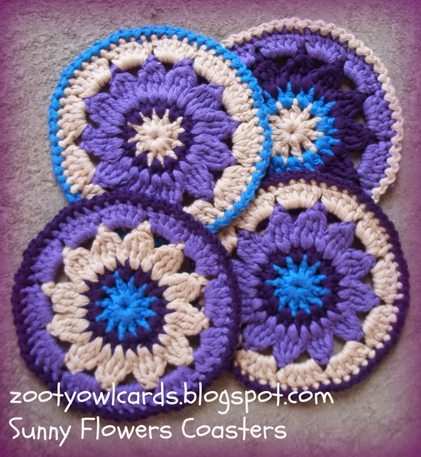 Best Of Zooty Owl S Crafty Blog Sunny Flower Coasters Pattern Mandala Crochet Patterns Of Beautiful 48 Pictures Mandala Crochet Patterns
