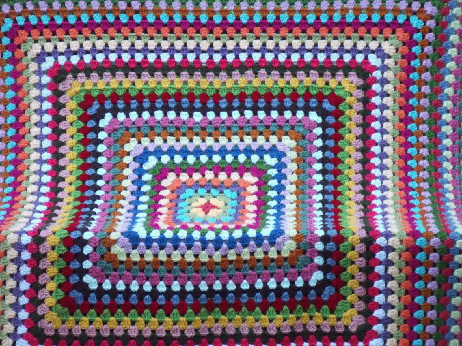 Big Crochet Blanket New Easy Crochet Pattern Granny Square Afghan Tutorial Of Adorable 43 Photos Big Crochet Blanket