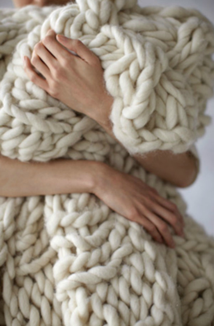 Big Knit Blanket Awesome 12 Blanket Diys that Will Make You Want to Stay Home and Of Big Knit Blanket Lovely Chunky Knit Blanket Pattern