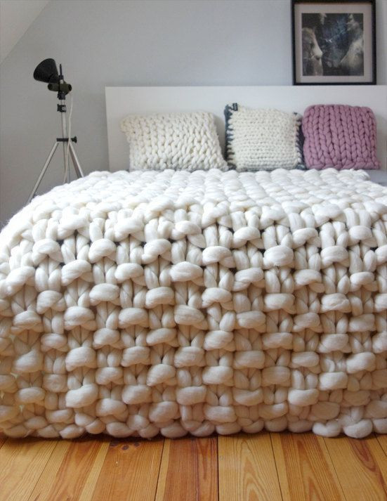 Big Knit Blanket Beautiful Best 25 Chunky Knits Ideas On Pinterest Of Delightful 46 Pictures Big Knit Blanket