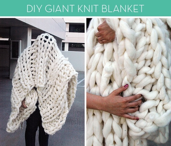 Big Knit Blanket Fresh Make It A Giant Knit Blanket Of Delightful 46 Pictures Big Knit Blanket