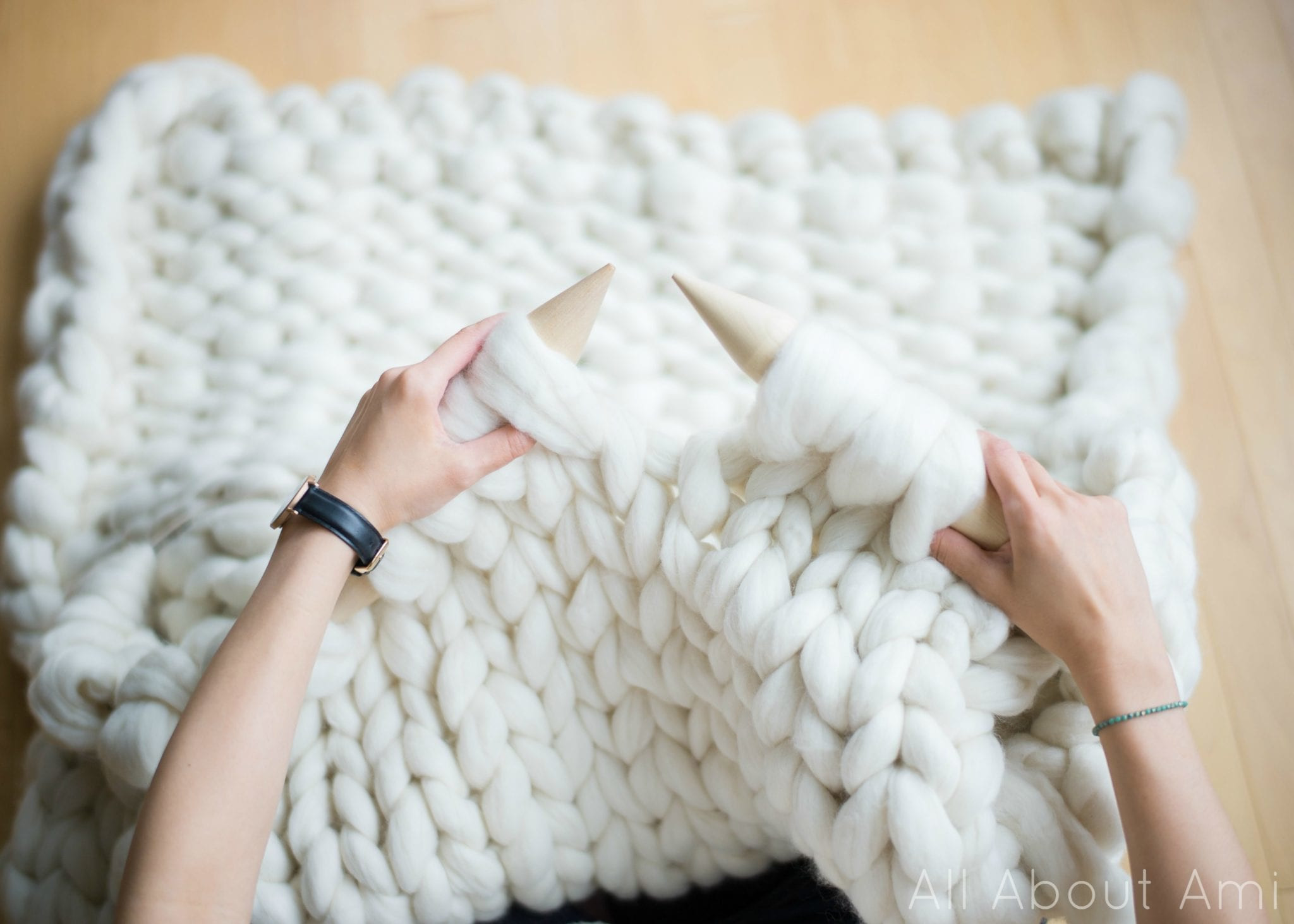 Big Knit Blanket Inspirational Extreme Knitted Blanket All About Ami Of Big Knit Blanket Lovely Chunky Knit Blanket Pattern