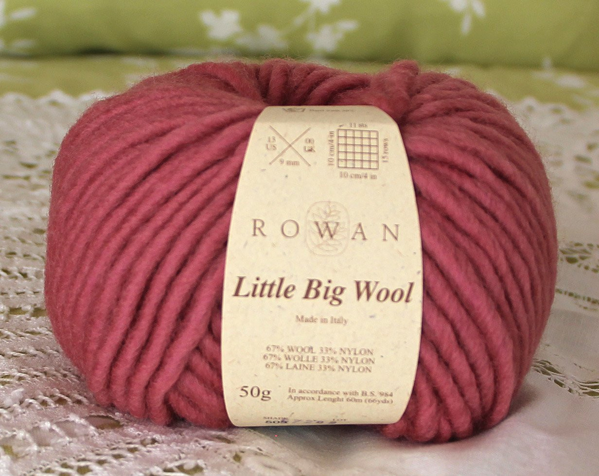 "Big Wool Yarn Fresh Rowan Little Big Wool ""garnet"" Yarn 1 Skein $6 Of Gorgeous 44 Images Big Wool Yarn"