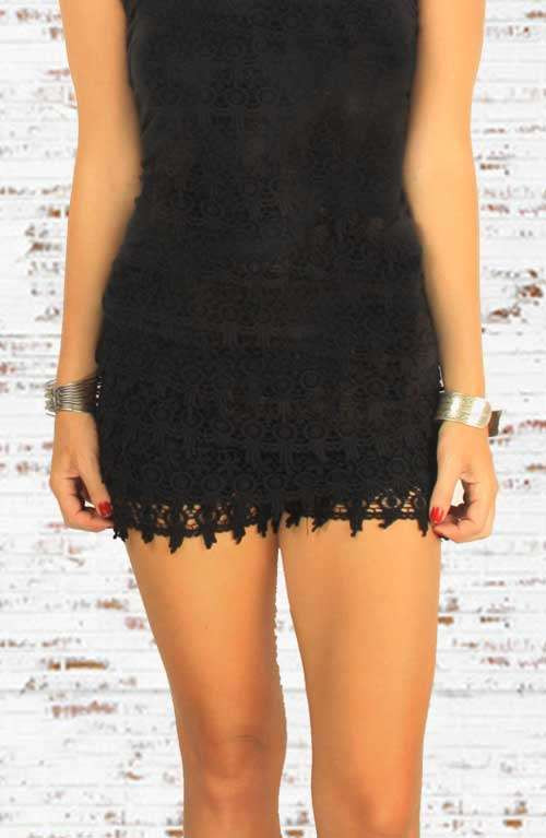 Black Crochet Shorts Best Of Crochet White Lace Shorts with White Inlay Of Superb 42 Pictures Black Crochet Shorts