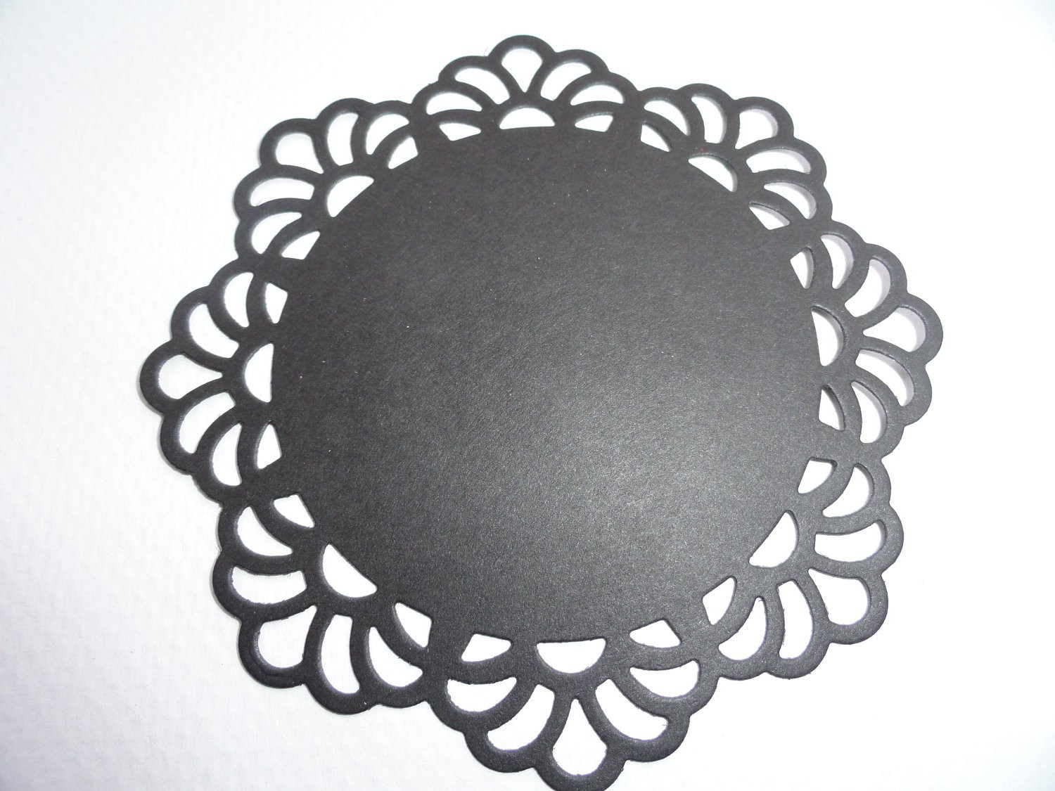 Black Paper Doilies Best Of Black Paper Doilies Set Of 12 by Lecardshoppe On Etsy Of Wonderful 42 Photos Black Paper Doilies