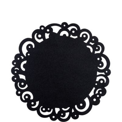Black Paper Doilies Inspirational Black Swirl Round Paper Doilies 6ct Party City Of Wonderful 42 Photos Black Paper Doilies