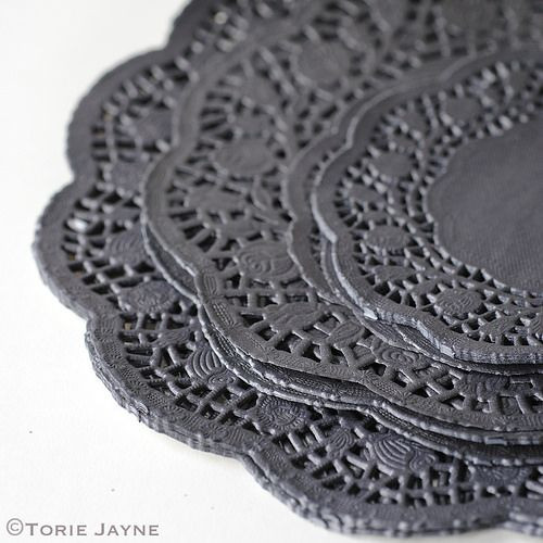 Black Paper Doilies Luxury 49 Best Images About Gothic Glamour Halloween On Pinterest Of Wonderful 42 Photos Black Paper Doilies