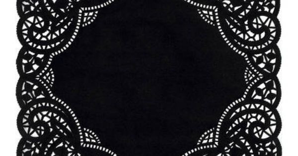 "Black Paper Doilies New 10"" Inch Square Black Paper Lace Doilies Craft ★canada Of Wonderful 42 Photos Black Paper Doilies"