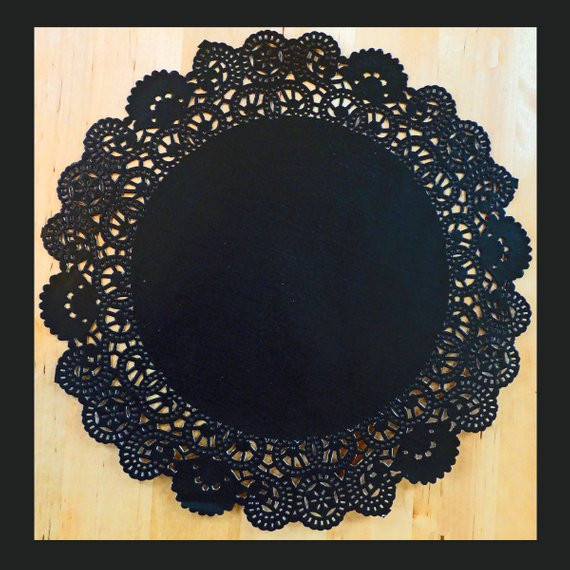 Black Paper Doilies Unique Black Doilies 10 Inch and 6 Inch Paper 24 by Sscraftsupplies Of Wonderful 42 Photos Black Paper Doilies