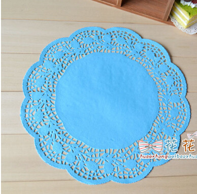 Blue Paper Doilies Awesome Free Shipping 12inch 30cm Blue Round Paper Lace Doilies Of Innovative 42 Pics Blue Paper Doilies