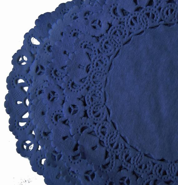 Blue Paper Doilies Beautiful Navy Blue Paper Lace Doilies 4 6 8 10 Sizes Hand by Of Innovative 42 Pics Blue Paper Doilies