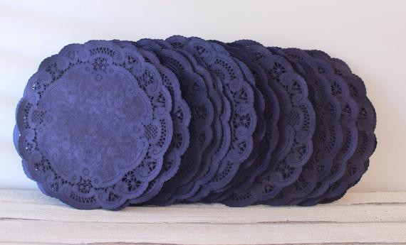 Blue Paper Doilies Beautiful Paper Doilies Navy Blue 4 Inch French Lace by Mailboxhappiness Of Innovative 42 Pics Blue Paper Doilies