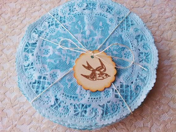 Blue Paper Doilies Lovely Paper Lace Doilies Hand Dyed Blue 5 Shabby Chic Rustic Of Innovative 42 Pics Blue Paper Doilies