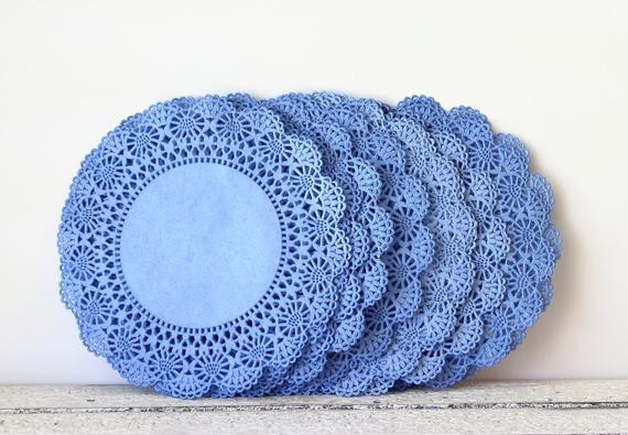 Blue Paper Doilies Unique Items Similar to Paper Doily Wedding Doilies Blue Doily Of Innovative 42 Pics Blue Paper Doilies