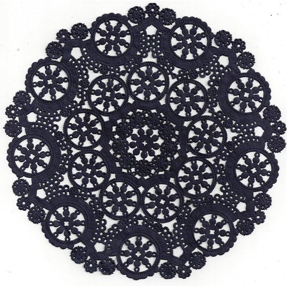 Blue Paper Doilies Unique Ten Dip Dyed Navy Blue Paper Doilies 8 10 by Of Innovative 42 Pics Blue Paper Doilies
