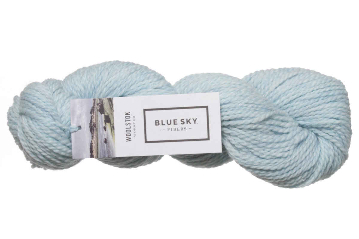 Blue Sky Yarn Awesome Blue Sky Fibers Woolstok Yarn 1318 thermal Spring at Of Delightful 42 Ideas Blue Sky Yarn