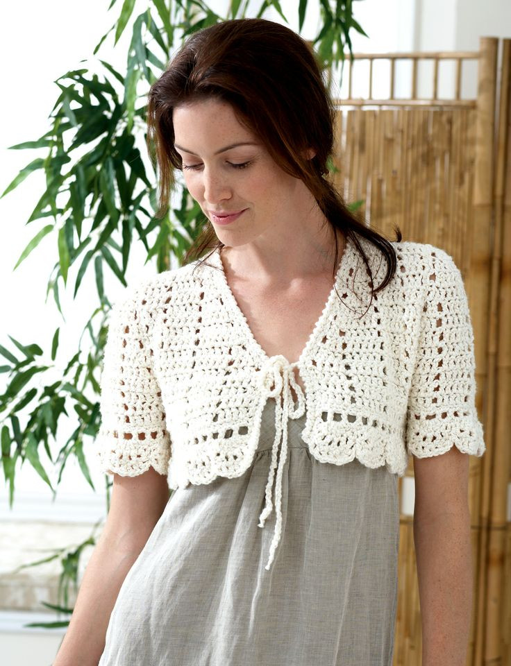 Bolero Pattern Awesome 348 Best Images About Crochet Cardigans and tops On Of Delightful 50 Pictures Bolero Pattern