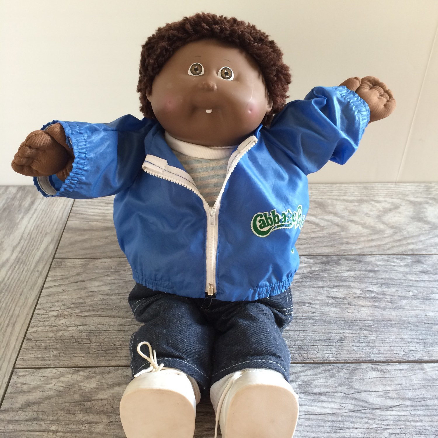 African American Cabbage Patch Kid Boy Doll by OwliceandStone