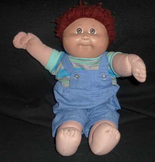Boy Cabbage Patch Dolls Awesome Vintage Red Headed Boy Cabbage Patch Doll In Coveralls Of Attractive 41 Ideas Boy Cabbage Patch Dolls
