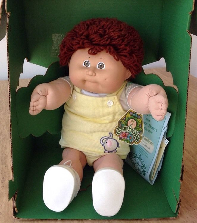 Boy Cabbage Patch Dolls Best Of Vintage 1985 Cabbage Patch Kids Boy Doll Brown Hair In Box Of Attractive 41 Ideas Boy Cabbage Patch Dolls