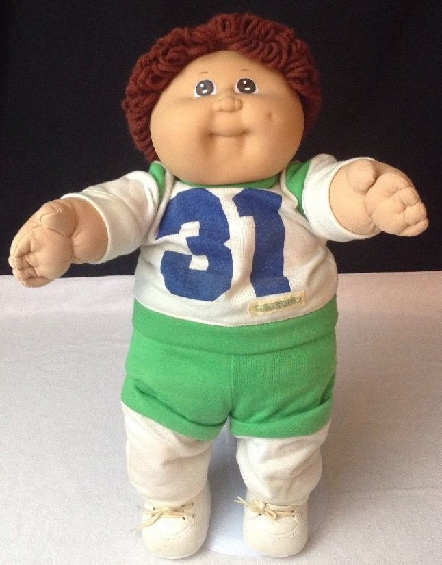 """Boy Cabbage Patch Dolls Best Of Vtg 1982 Cabbage Patch Kids Football 16"""" Boy Doll Of Attractive 41 Ideas Boy Cabbage Patch Dolls"""