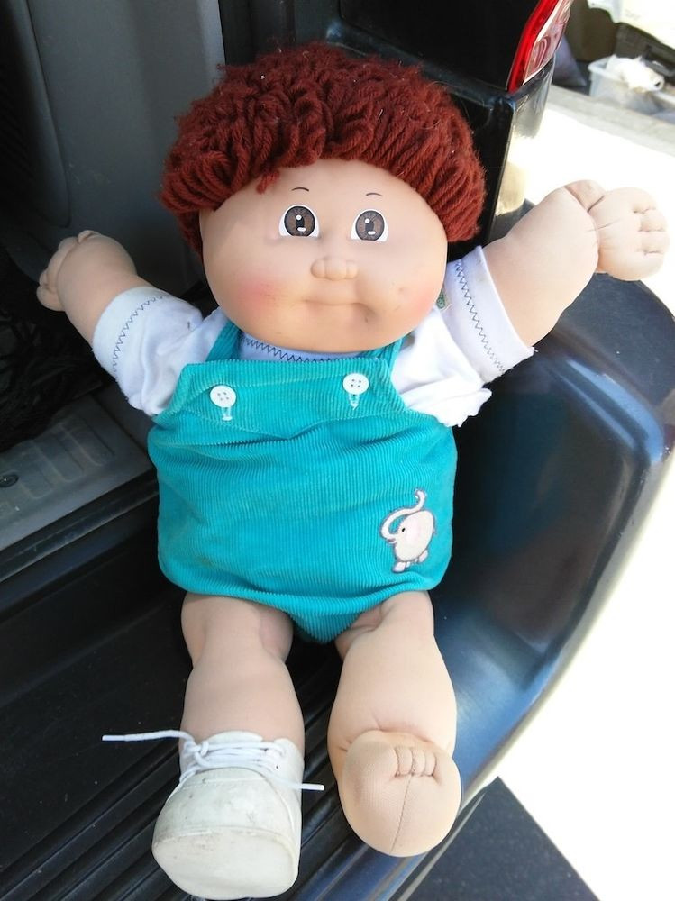 Boy Cabbage Patch Dolls Unique Cabbage Patch Kids Boy Doll Brown Yarn Hair Brown Eyes Of Attractive 41 Ideas Boy Cabbage Patch Dolls