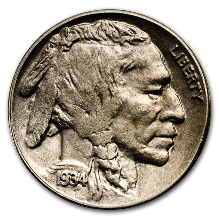 Buffalo Nickel Awesome 1934 D Buffalo Nickel Ms 62 Of Beautiful 46 Models Buffalo Nickel