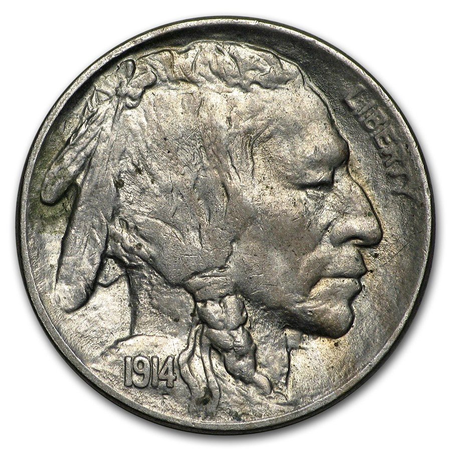 Buffalo Nickel Beautiful 1914 Buffalo Nickel Au 58 Of Beautiful 46 Models Buffalo Nickel