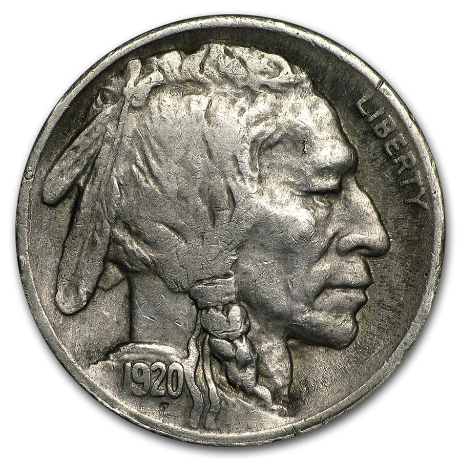 Buffalo Nickel Beautiful 1920 S Buffalo Nickel Vf Of Beautiful 46 Models Buffalo Nickel