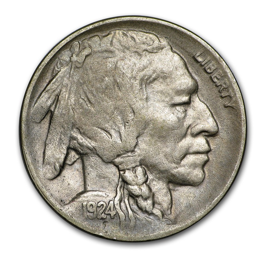 Buffalo Nickel Elegant 1924 D Buffalo Nickel Xf Of Beautiful 46 Models Buffalo Nickel