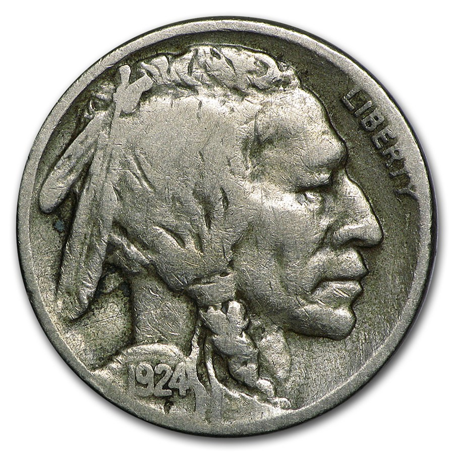 Buffalo Nickel Elegant 1924 S Buffalo Nickel Fine Of Beautiful 46 Models Buffalo Nickel