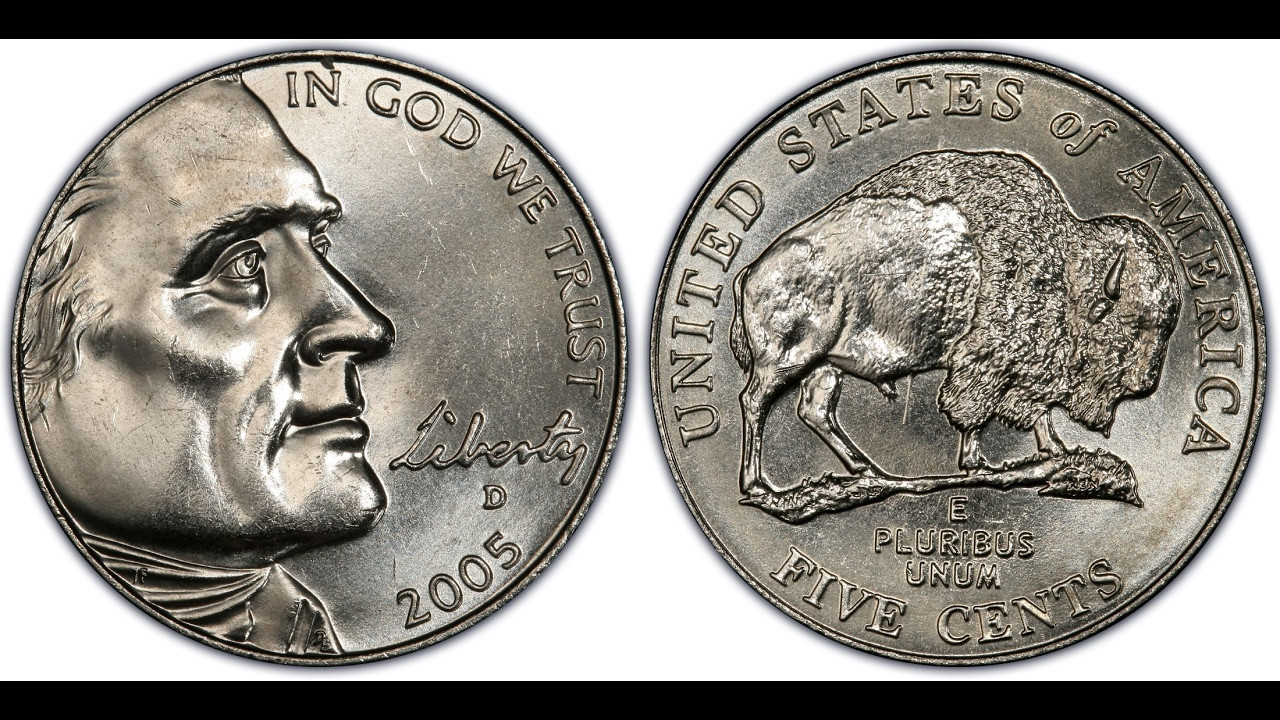 Buffalo Nickel Unique $1200 00 Error In Your Pocket 2005 D Speared Buffalo Of Beautiful 46 Models Buffalo Nickel